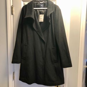 NWT Black Coat by GAP